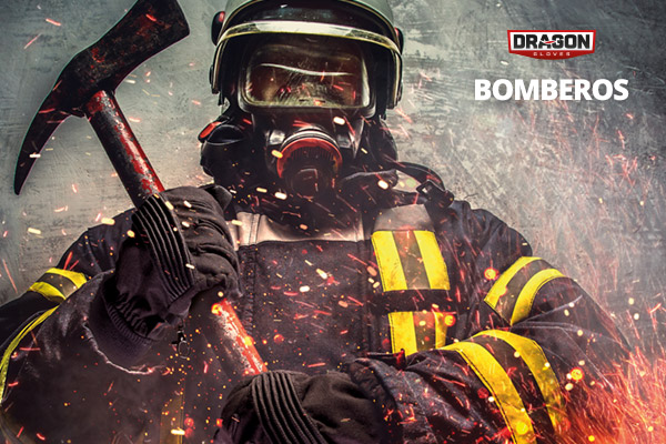 Dragon Gloves Bomberos