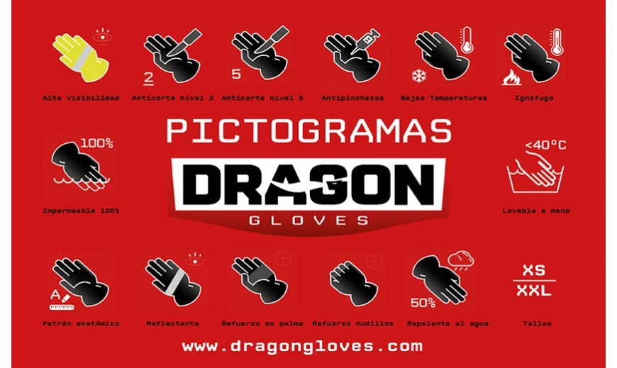 Dragon Gloves, para Cuerpos de Seguridad